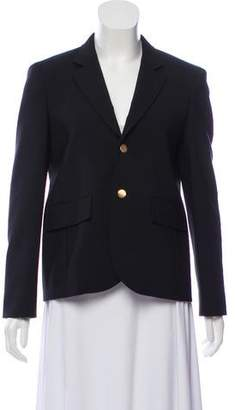 Balenciaga Virgin Wool Button-Up Blazer w/ Tags