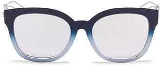 Christian Dior 'Diorama 1' degradé metal openwork temple mirror sunglasses
