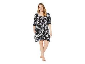 Donna Karan Plus Size Modal Sleepshirt
