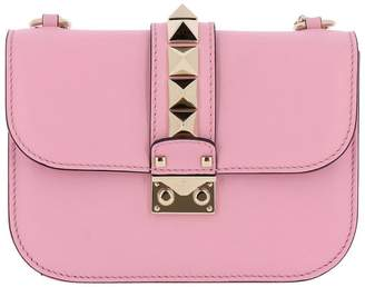 Valentino GARAVANI Mini Bag Rockstud Lock Small Bag In Leather With Maxi Metal Studs And Removable Shoulder Strap
