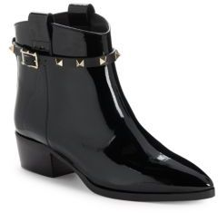 Slip-On Leather Ankle Boots $1,395 thestylecure.com