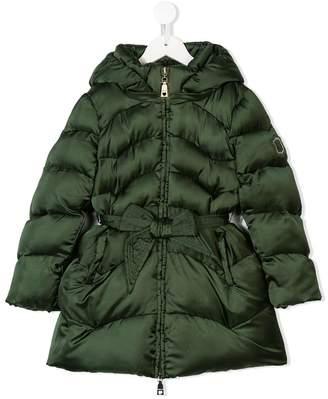 MonnaLisa front bow belt coat
