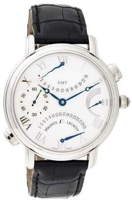 Maurice Lacroix Masterpiece Double Retrograde Watch