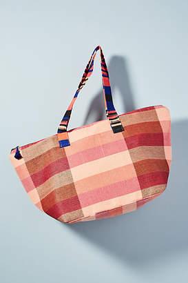 Mercado Global Pops of Pink Tote Bag