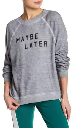 Wildfox Couture Maybe Later Burnout Sweater