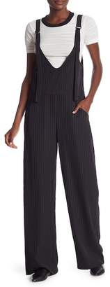 Dance and Marvel Pinstriped Wide Leg Jumpsuit
