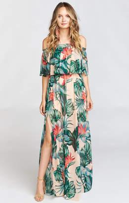 Show Me Your Mumu Hacienda Maxi Dress ~ Kauai Kisses