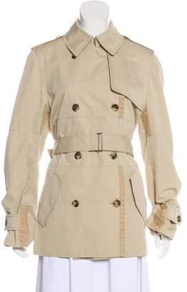 Saint Laurent Collared Short Coat