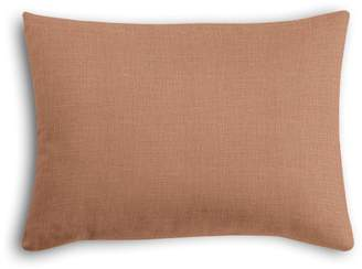 Loom Decor Boudoir Pillow Classic Linen - Terra Cotta