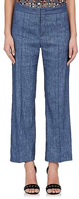 Etoile Isabel Marant Women's Oxy Linen-Blend Flared Pants