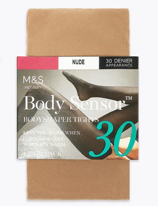 Marks and Spencer 30 Denier Body Sensor Opaque Tights
