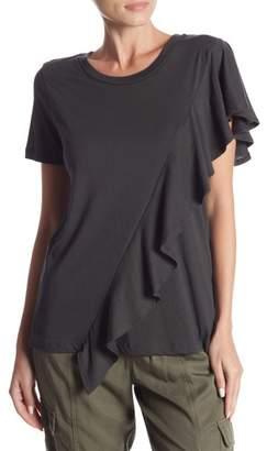 Hashttag Short Sleeve Knit Top