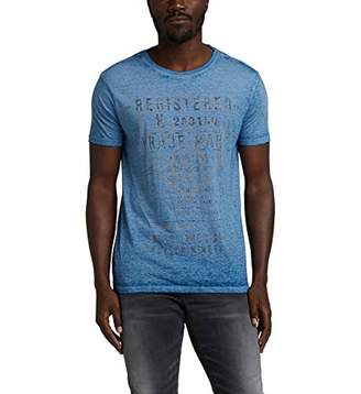 Silver Jeans Men's Discharge Print Graphic T