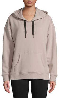Calvin Klein Long Sleeve Boxy-Fit Hoodie