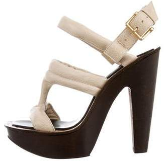 Derek Lam Platform Leather Sandals