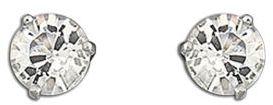 Swarovski Solitaire Crystal Stud Earrings