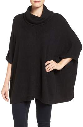 Caslon Cowl Neck Sweater Poncho