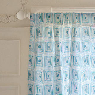 Mod Cubes Curtains