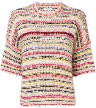 Ganni Brookhaven half sleeve sweater