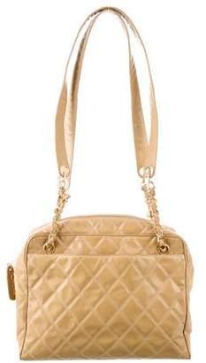Chanel Quilted Vinyl Shoulder Bag