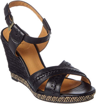Jack Rogers Abbey Leather Wedge Sandal