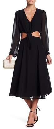 Yumi Kim Open Heart Midi Dress