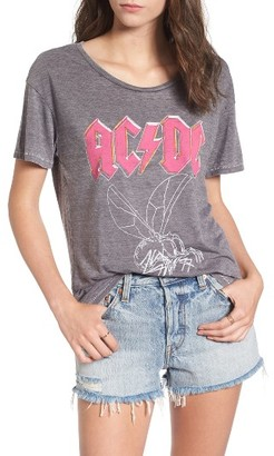 Women's Junk Food Ac/dc 1985 World Tour Tee $55 thestylecure.com