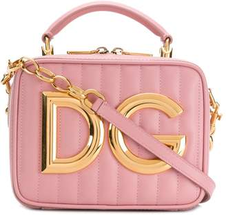 Dolce & Gabbana logo plaque bag