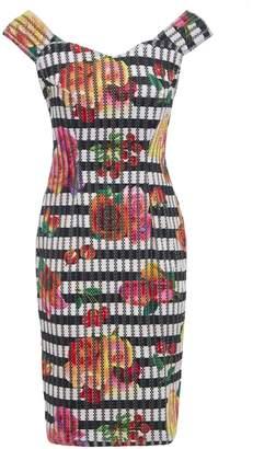 Sarvin - Linda Vintage Inspired Floral Dress