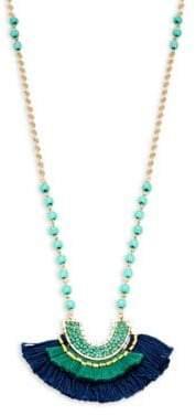 Panacea Beaded Pendant Necklace