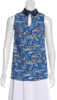 Peter Som Lace Sleeveless Top