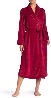 Carole Hochman Midnight Fleece Long Robe