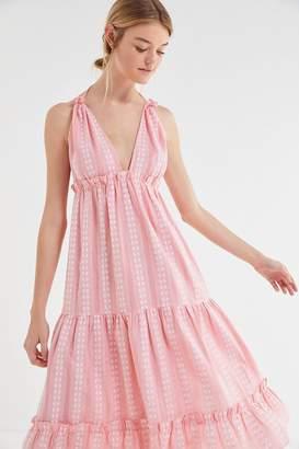 Cleobella Oliver Ruffle Empire Waist Midi Dress