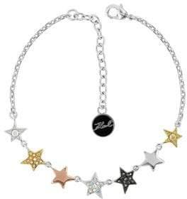 Karl Lagerfeld Stars Swarovski Crystal Bracelet