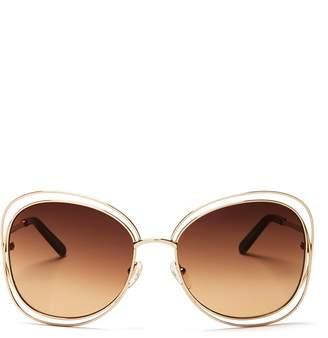 Chloé Women's Carlina Oversized Round Sunglasses, 60mm