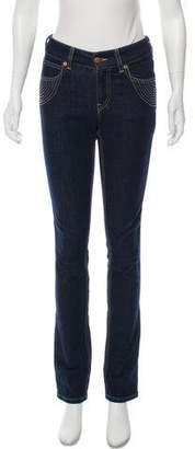 Jean Paul Gaultier Mid-Rise Straight-Leg Jeans