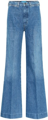 MiH Jeans Bay high-rise flared jeans