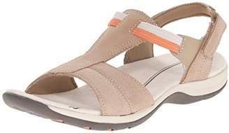 Easy Spirit Women's SUMANA Flat Sandal $26.86 thestylecure.com