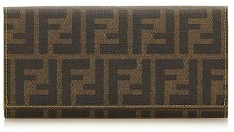 Fendi Vintage Zucca Canvas Long Wallet