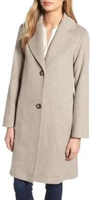 Fleurette Loro Piana Wool Long Coat