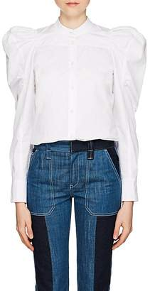 Chloé Women's Cotton Puff-Sleeve Blouse