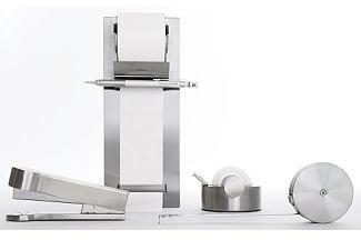 Stainless Desk Set