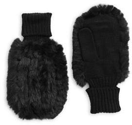 7a47a20eb FURious Fur - The Ethical Choice Bunny Hop Faux Fur Mittens