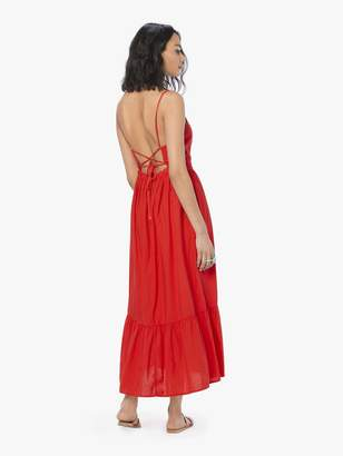 XiRENA Lena Dress - Red Torch