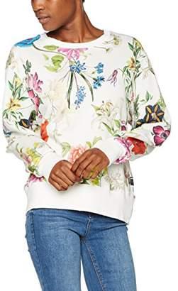 Replay Women's W3927 .000.71294 Regular Fit Long Sleeve Sweatshirt - Multicolour - Small