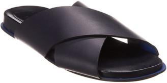 Marni Criss-Cross Leather Slide