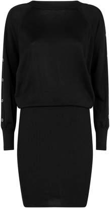 AllSaints Suzie Eyelet Jersey Dress