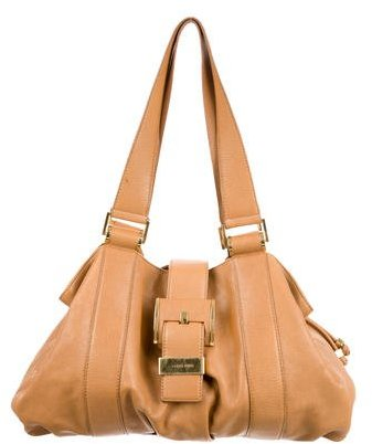 MICHAEL Michael Kors Michael Kors Leather Drawstring Tote