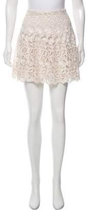 Alice + Olivia Lace Mini Skirt w/ Tags