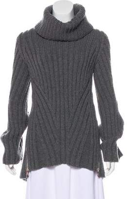 Alexander McQueen Wool Turtleneck Tunic